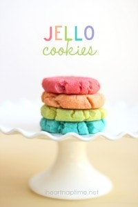 JELLO cookies on iheartnaptime.com #jello #recipes