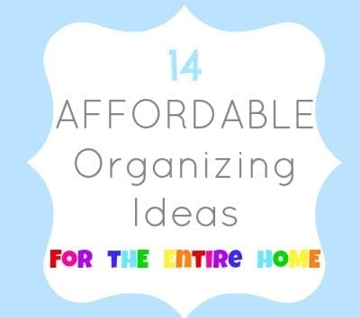 14 organizing ideas