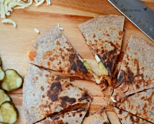 BBQ pork quesadillas2