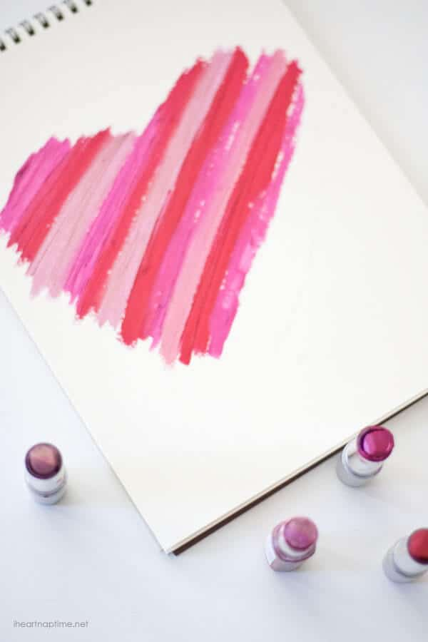 Lipstick Art on iheartnaptime.net