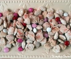 Strawberry Cheesecake Chex Mix