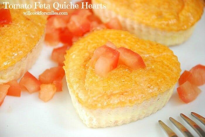 Tomato Feta Quiche Hearts 4ed