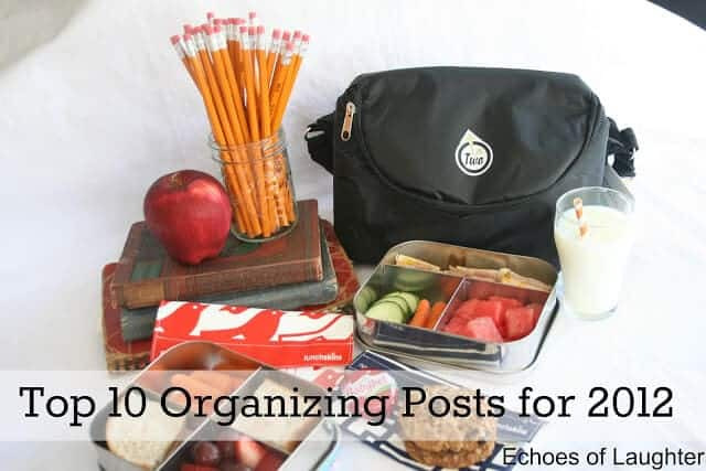 Top 10 Organizing Posts 2012