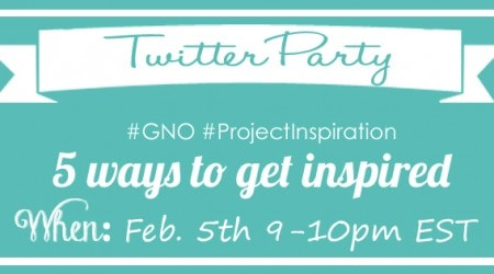 Twitter Party #GNO #ProjectInspiration