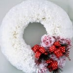 Valentine's Coffe Filter Wreath