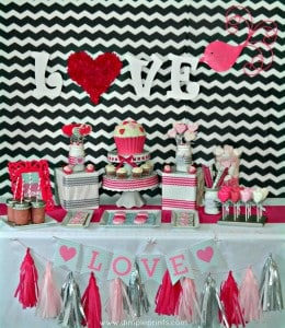 love of chevron party 1