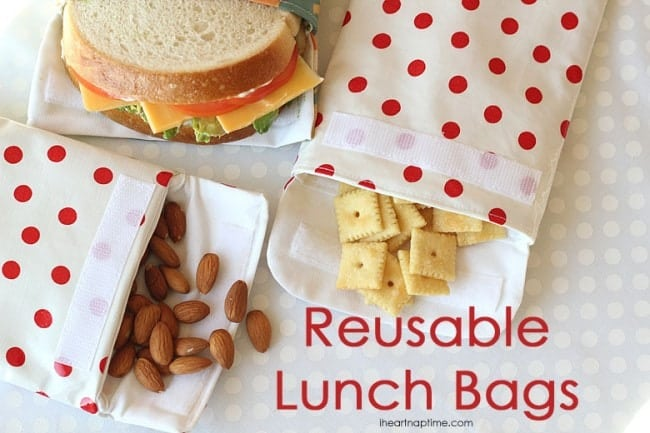 reusable lunch bags