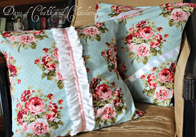 Shabby Chic Woodrose Pillowcases : Sundae Scoop Top 20 - I Heart Nap Time