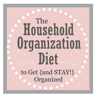 the household organizational diet
