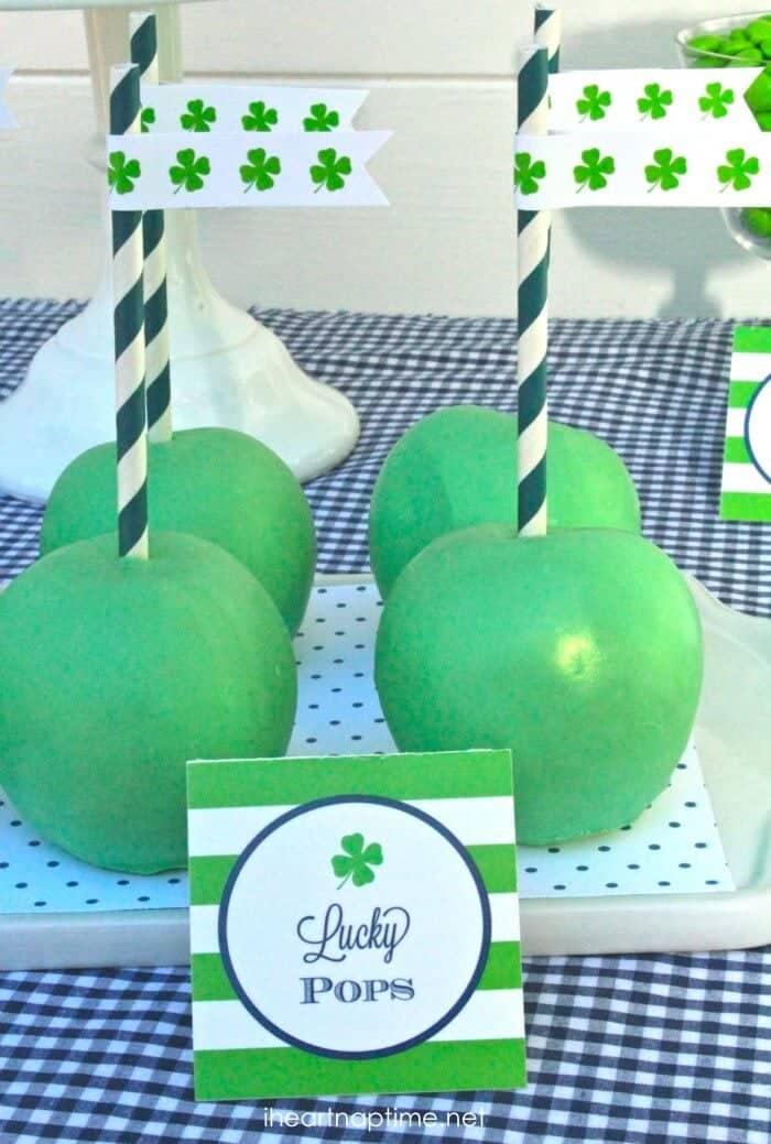 shamrock apples