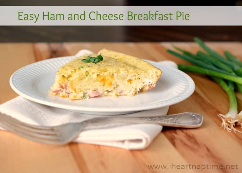 Easy Ham and Cheese Breakfast Pie