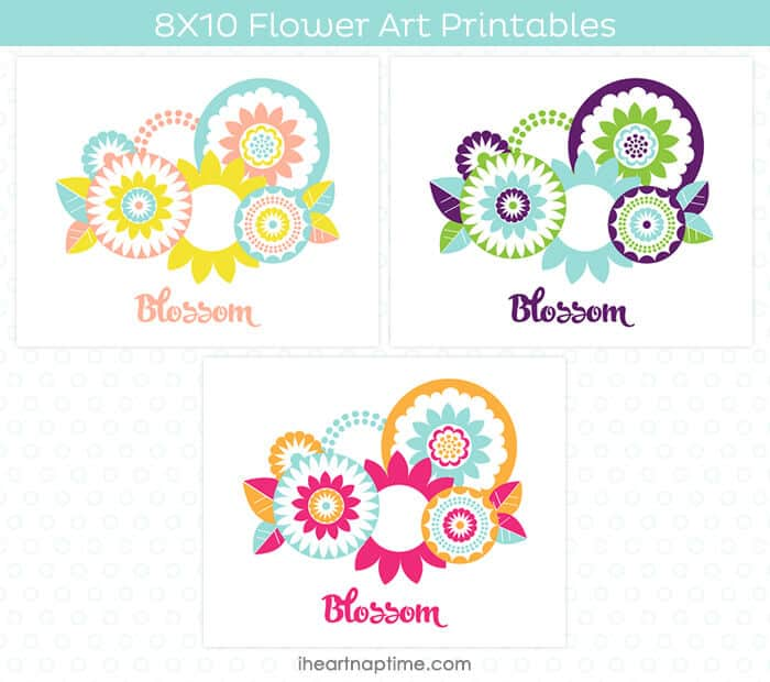 Flower Art Printable