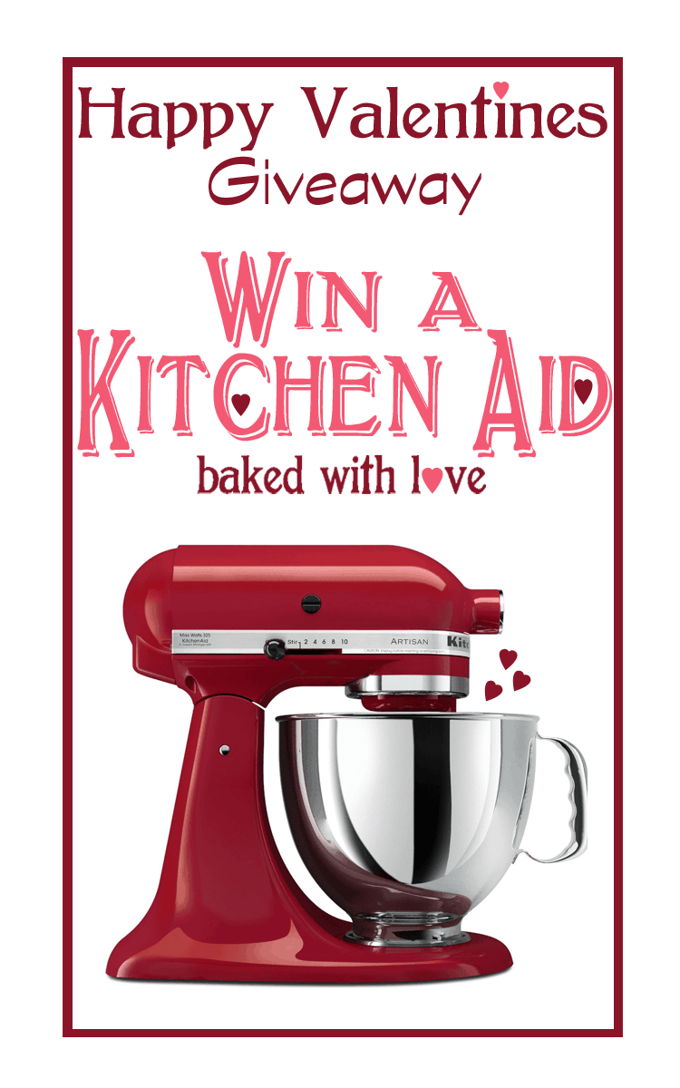 Kitchen Aid Giveaway on iheartnaptime.com