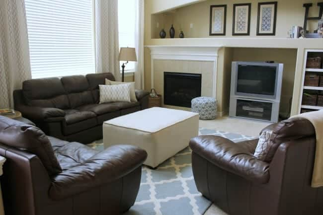 family room makeover