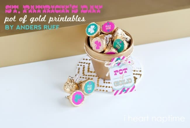 st patricks day printable pot of gold