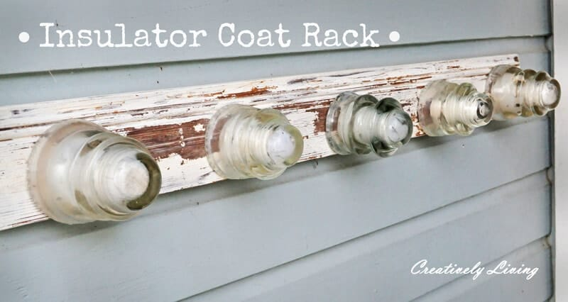 insulator coat rack