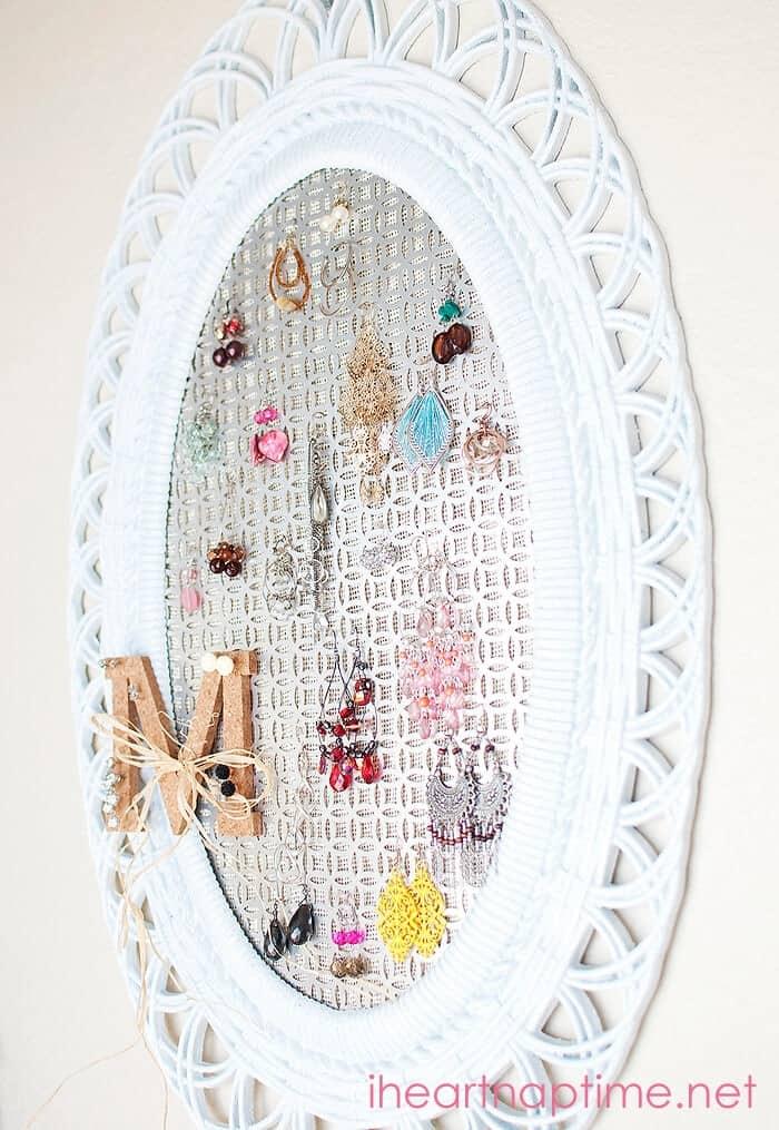 DIY Jewelry Organizer I Heart Nap Time