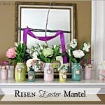 Risen Easter Mantel