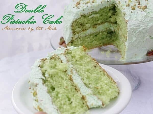 double pistachio cake - I Heart Nap Time