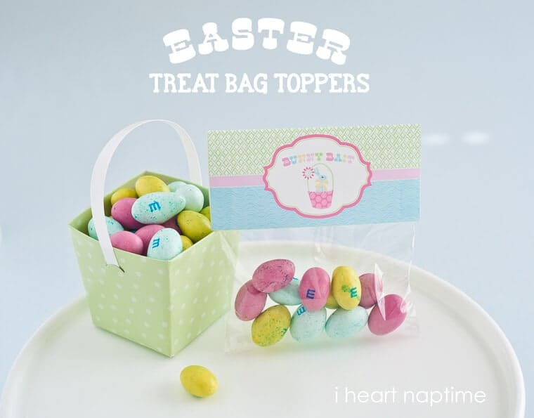 Bunny bait printable easter bag toppers i heart nap time easter printable bag toppers negle Images