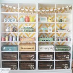 herringbone-bookcase-craft-room-storage-600x560