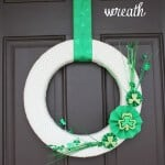 luck of the irish wreath