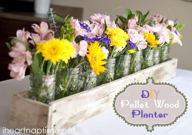 DIY Pallet Wood Planter