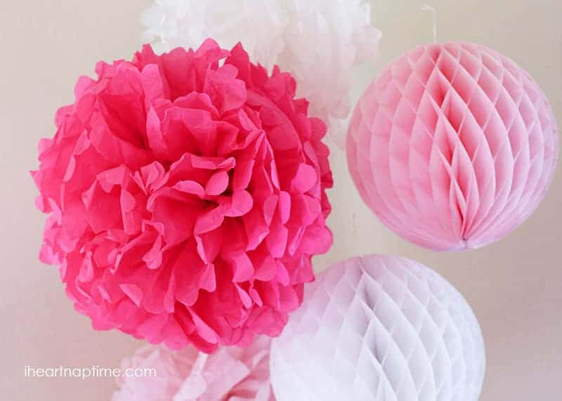 How to make tissue paper flowers i heart nap time diy tissue paper flowers mightylinksfo Images
