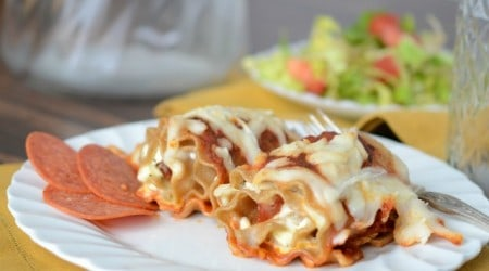 pepperoni pizza lasagna roll upsIHNPT