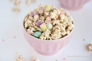 Cookie butter popcorn ... this stuff is addicting!