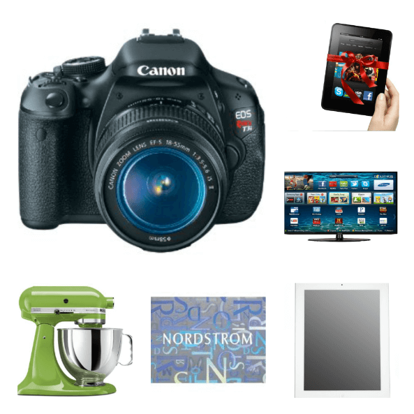Win these awesome prizes!