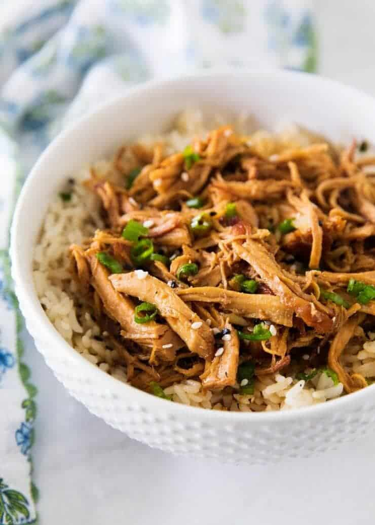 Slow Cooker Honey Chicken I Heart Nap Time
