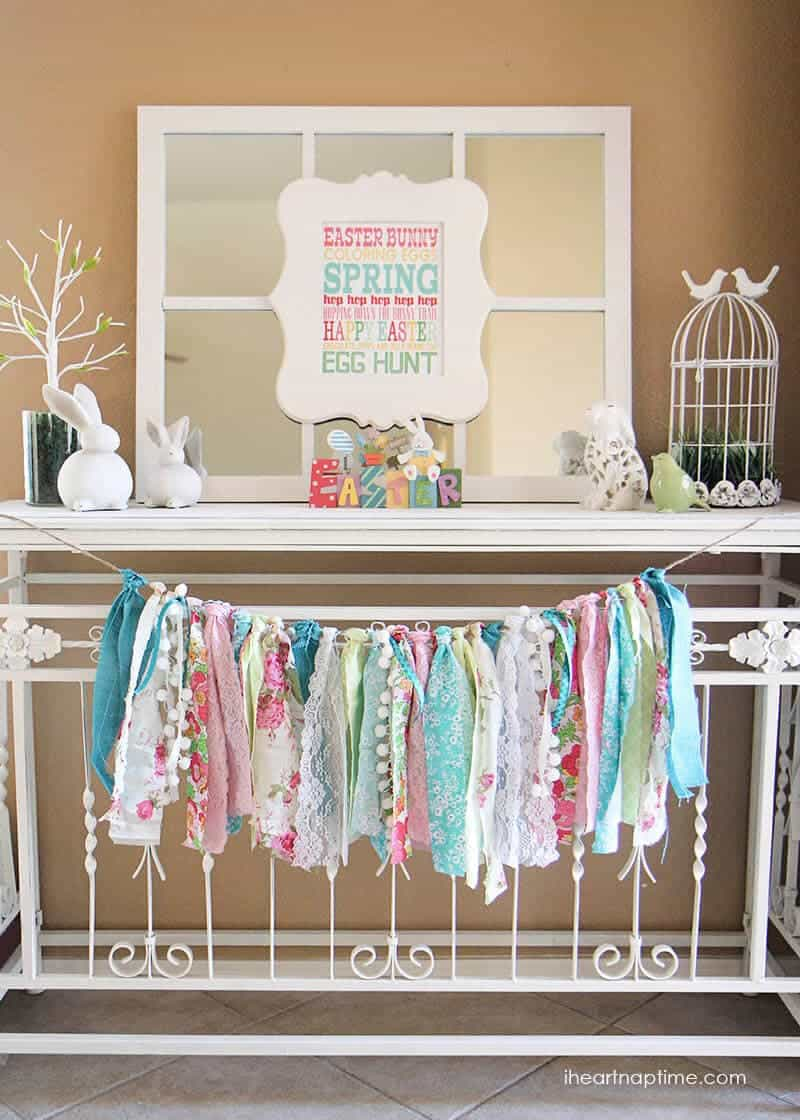 Spring decorating ideas time to spring i heart nap time for Decorative ideas