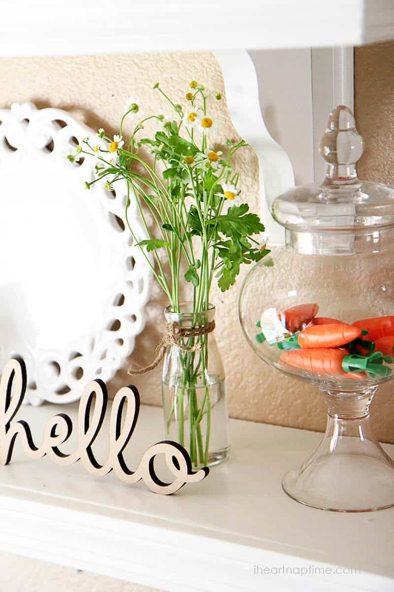 Spring decorating ideas time to spring i heart nap time for Art decoration