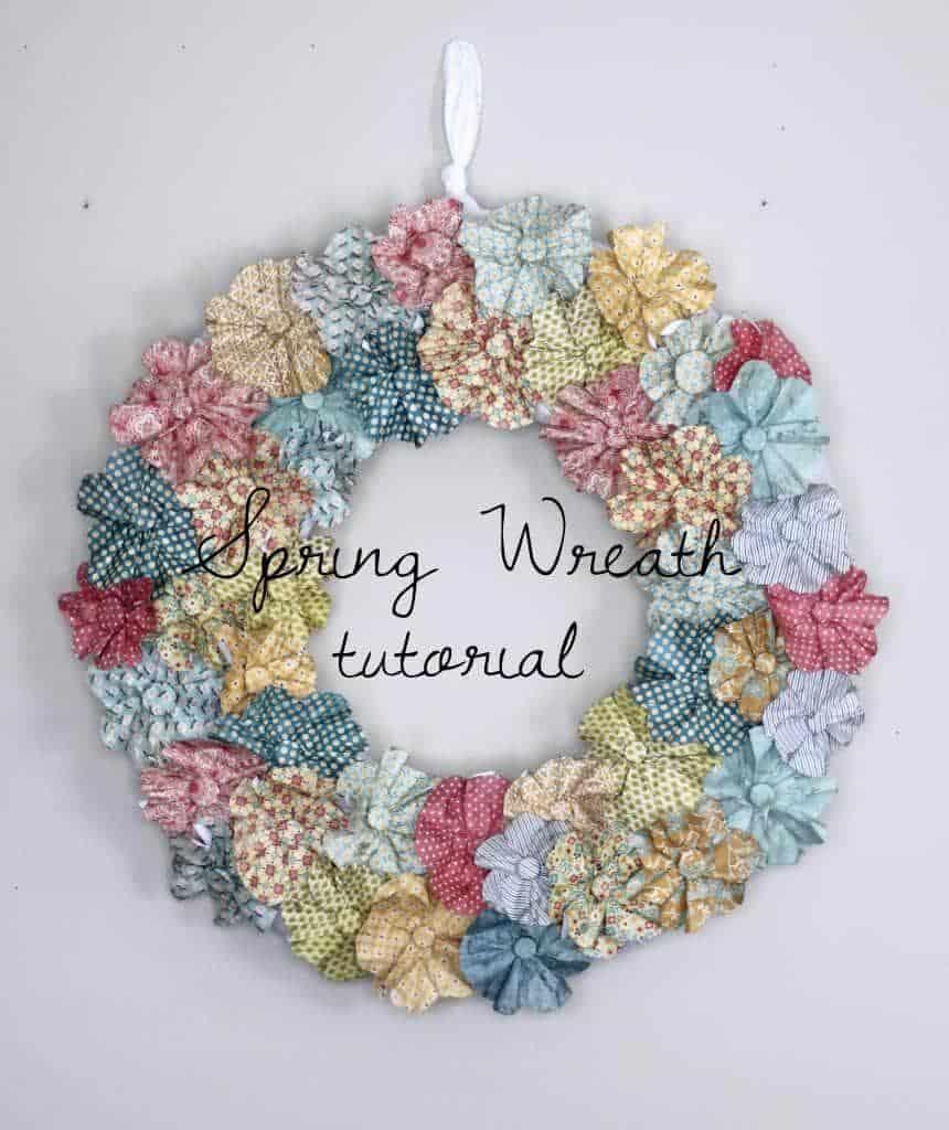 Garden Hose Spring Wreath Create Craft Love Party