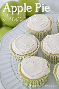 Apple Pie Cupcakes title