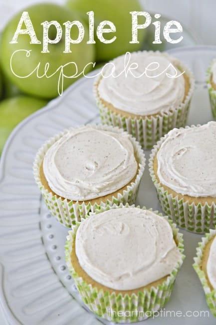 Apple Pie Cupcakes title