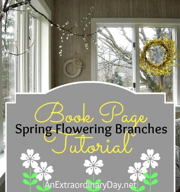 Cover-Book-Page-Spring-Flowering-Branches-Tutorial-AnExtraordinaryDay