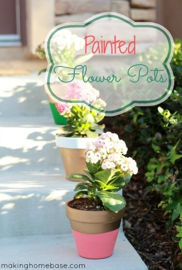Painted-Flower-Pots