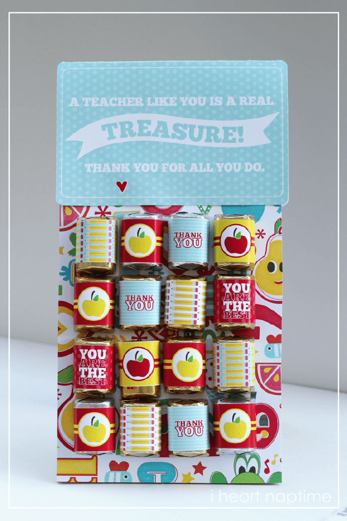 Teachers are Treasures {Free Download} - I Heart Nap Time