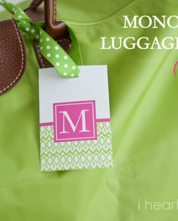luggage tag printables