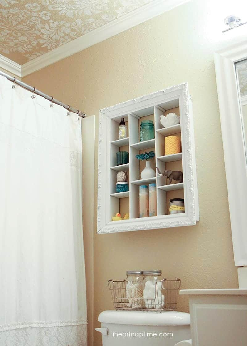 diy bathroom makeover from iheartnaptime - Cheap Bathroom Makeover