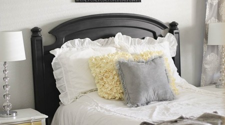 Master bedroom makeover with Sherwin Williams