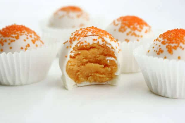 creamsicle cake pops