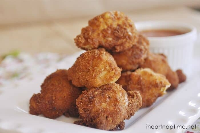 fried mac & cheese recipe ...yummm!