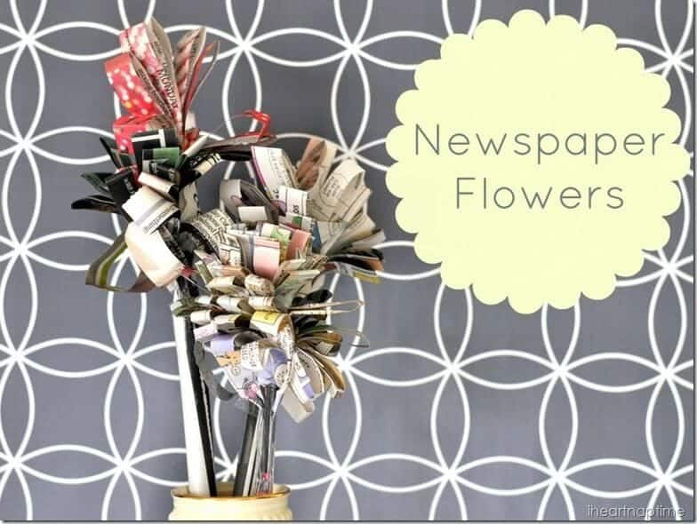 newspaper flowers @iheartnaptime (2)cv