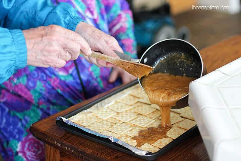 saltine cracker recipe