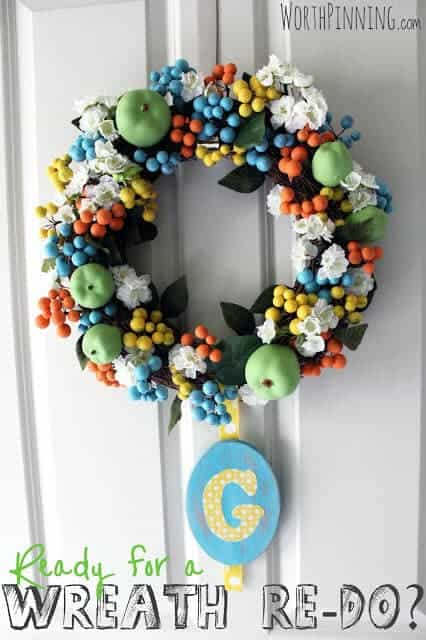 wreath re-do