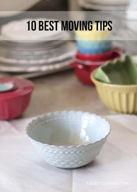 10 best moving tips...pin now, save for later!
