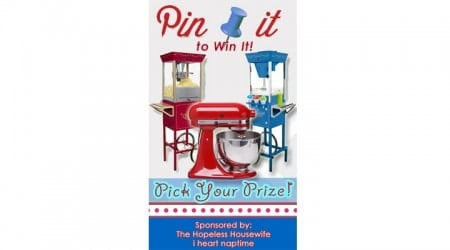 A pick your prize pin it to win it!